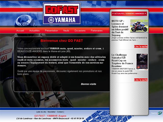 le nouveau site de votre concessionnaire yamaha angers est en ligne point sys. Black Bedroom Furniture Sets. Home Design Ideas