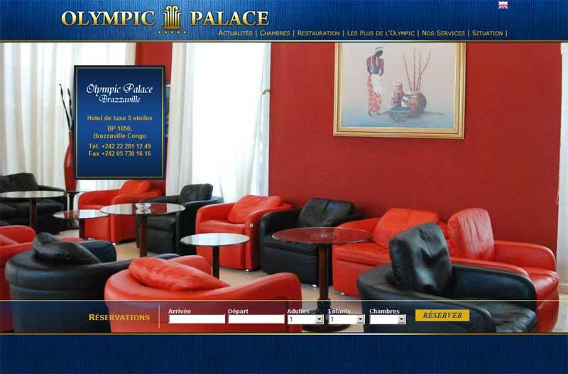 L 39 olympic palace hotel de brazzaville met en ligne for Site hotel en ligne